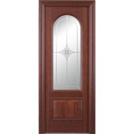 Двери Волховец Деканто 5102 Красное Дерево Бордо