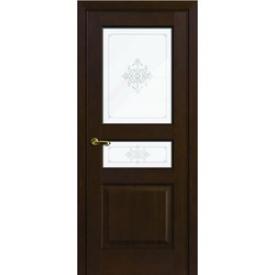 Двери Волховец Interio 1132 Красное Дерево Мокко