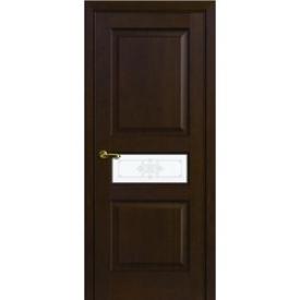Двери Волховец Interio 1133 Красное Дерево Мокко