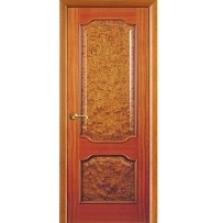 Двери Волховец Классика Красное дерево 1101