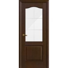 Двери Волховец Interio 1128 Красное Дерево Мокко