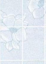 Стеновые панели:De Kvadro:Мозаика гладкая лазурная 0102/3