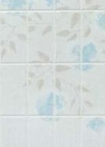Стеновые панели:МДФ:Georgia Pacific:Небесно-голубая Флора