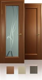 Межкомнатная дверь - Новая волна, остекление P
