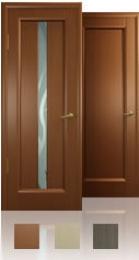 Межкомнатная дверь - Новая волна, остекление L