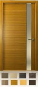 Межкомнатная дверь  De-Vesta, остекление L