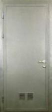 Дверь противопожарная однопольная без остекления и с остеклением