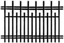 Забор гнутый 001