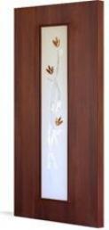 Дверь ламинированная С17 (о) Тюльпан