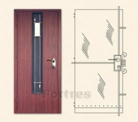 Стальная дверь  MUL-T-LOCK Модель Гладиатор-Абсолют