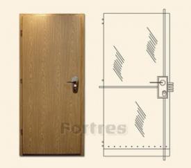 Стальная дверь MUL-T-LOCK Mодель Форт-Винорит Четыре