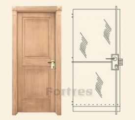 Стальная дверь MUL-T-LOCK Модель Редут-Дизайн Четыре