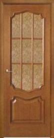 Дверь межкомнатная шпонированная Премьера остекленна