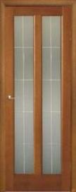 Дверь межкомнатная шпонированная Капри-3 остекленная