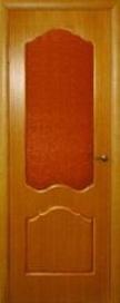 Дверь межкомнатная шпонированная ART-S остекленная