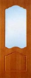 Дверь межкомнатная шпонированная ART-T остекленная