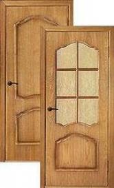 Дверь межкомнатная шпонированная Каролина