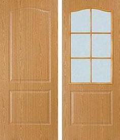 Дверь МДФ Виват (светлый дуб)