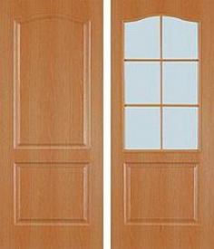 Дверь МДФ Виват (миланский орех)