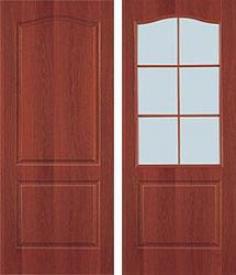 Дверь МДФ Виват (итальянский орех)