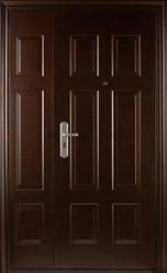 Дверь стальная SM 01/2 Горизонт
