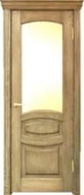 Двери ОСБ, модель КЛАССИКА-2 ДО (остекленная)