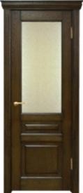 Двери ЛИДЕР, модель КЛАССИКА-1 ДО (остекленная)