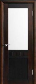Двери ОСБ, модель Фишт-2 ДО (остекленная)