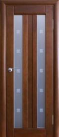 Двери ОСБ, модель Фантазия ДО-2 (остекленная - стекло квадрат)