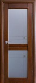 Двери ОСБ, модель Тенея ДО (остекленная)