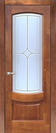Двери ЛИДЕР, модель АФИНА ДО(остекленная)