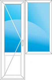 Thyssen-Deceuninck Bautec балконный блок