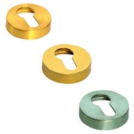 Накладки круглые под флажковый ключ ADEPT PREMIUM