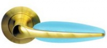 AS-502-99 SATIN GOLD /BLUE AKRYLE