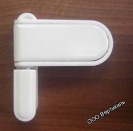 Петля дверная DoorLine 150кг белая.