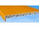 Подоконник пластиковый 400 мм мрам/ дерево