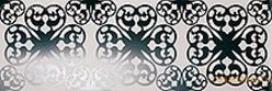 Ode bianco nero inserto fap ceramiche декор