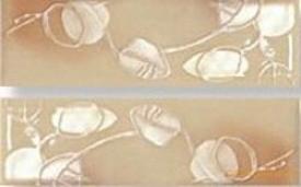 Fleuri creme listello s/2 fap ceramiche бордюр