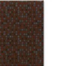 Квадро / Qadro Керамическая плитка Квадро коричневый настенная