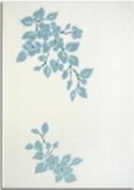 Капри Керамическая плитка Капри бирюзовый декор2