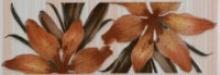 Акварель / Akvarel Керамическая плитка Акварель оранжевый бордюр