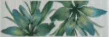 Акварель / Akvarel Керамическая плитка Акварель зеленый бордюр