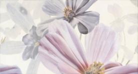 Infinity Керамическая плитка Infinity Flor 1 Blanco Decor настен
