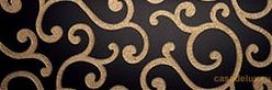 Roma nero inserto fap ceramiche декор