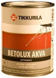 Краска для пола TIKKURILA (Тикурила) БЕТОЛЮКС АКВА A, 0.9 л