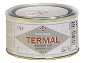 Силиконоалюминиевая краска TIKKURILA (Тикурила) ТЕРМАЛ, 1/3 л.