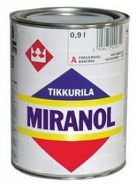 Тиксотропная алкидная краска со слабым запахом TIKKURILA (Тикури