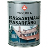 Алкидная краска с противокоррозийным пигментом TIKKURILA (Тикури