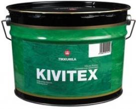 Силикатная грунтовка TIKKURILA (Тикурила) КИВИТЕКС, 10 л