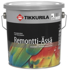 Латексная краска на основе акрилата TIKKURILA (Тикурила) РЕМОНТИ
